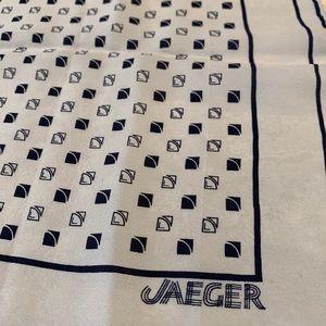 Vintage Jaeger Silk scarf